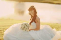 Чудесный день свадьбы Стоковая Фотография RF