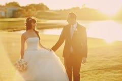 Чудесный день свадьбы Стоковое фото RF