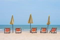 Чудесный пляж в Азии Стоковые Изображения RF