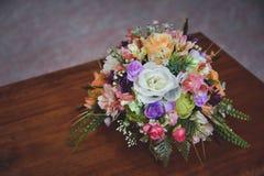 Чудесный роскошный букет свадьбы Стоковое Изображение