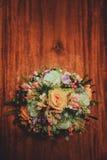Чудесный роскошный букет свадьбы Стоковые Изображения RF