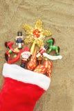чулок рождества Стоковая Фотография