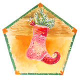 чулок рождества Стоковые Изображения RF