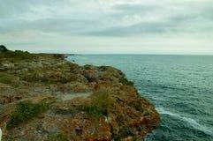 Чёрное море от Болгарии Стоковое Фото