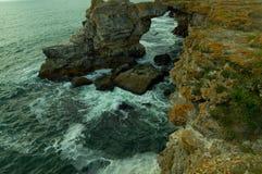 Чёрное море от Болгарии Стоковая Фотография