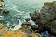 Чёрное море от Болгарии Стоковые Изображения RF