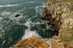 Чёрное море от Болгарии Стоковое фото RF