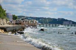 Чёрное море Стоковая Фотография RF
