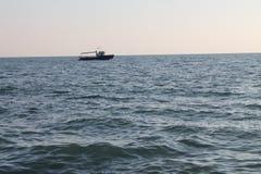 Чёрное море, Adler Россия Стоковые Фотографии RF