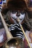 Член военного оркестра Стоковые Фото