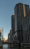 Чiкаго городское стоковое изображение rf