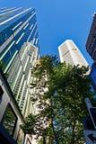 Шаберы неба города Сиднея, Австралия стоковая фотография
