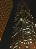 Шабер неба на ноче Стоковая Фотография RF
