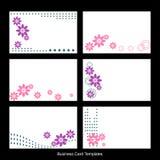 шаблоны визитной карточки Стоковое Фото