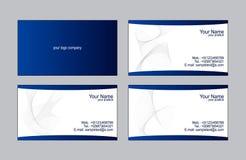 шаблоны визитных карточек Стоковая Фотография RF