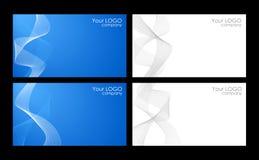 шаблоны визитных карточек Стоковые Фотографии RF