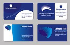 шаблоны визитных карточек иллюстрация вектора