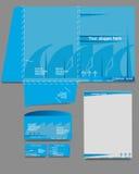 шаблоны корпоративной тождественности дела установленные Стоковое фото RF