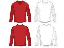 шаблоны рубашки Стоковые Изображения