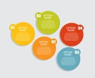 Шаблоны Infographic для вектора дела Стоковые Фотографии RF