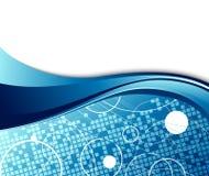 шаблон абстрактного знамени высокотехнологичный Стоковое фото RF