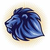 Шаблон вектора логотипа льва Стоковая Фотография