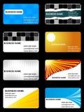 шаблон визитной карточки Стоковая Фотография RF