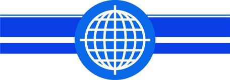 шаблон глобуса Стоковое Изображение RF