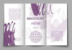 Шаблон дизайна брошюры Стоковые Фото