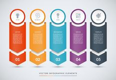 Шаблон дизайна вектора infographic бесплатная иллюстрация