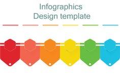 Шаблон дизайна Infographic с местом для ваших данных также вектор иллюстрации притяжки corel бесплатная иллюстрация