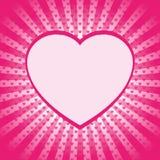 Шаблон искусства шипучки с сердцами Стоковая Фотография RF