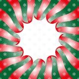 Шаблон искусства шипучки с снежинками Стоковые Изображения RF