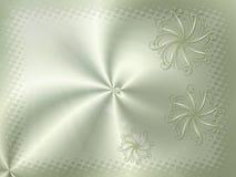 Шаблон, карточка с цветком с местом для вашего текста Стоковая Фотография RF