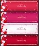 Шаблон карточки ваучера как зачатие валентинки бесплатная иллюстрация