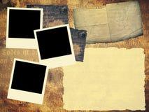 шаблон книги старый Стоковые Фотографии RF