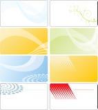 шаблон конструкции визитной карточки Стоковое фото RF