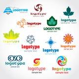 шаблон логоса Стоковые Фото