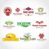 шаблон логоса Стоковое Фото