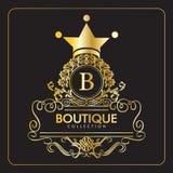 Шаблон логотипа бутика бесплатная иллюстрация