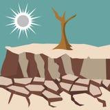 Шаблон логотипа искусства вектора иллюстрации стихийного бедствия иллюстрация вектора