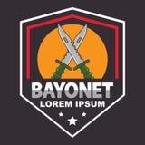 Шаблон логотипа штифта иллюстрация штока