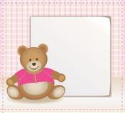 шаблон медведя иллюстрация штока