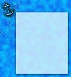 шаблон письма Стоковые Изображения RF
