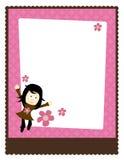 шаблон плаката рогульки 5x11 8 Стоковые Фото