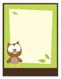 шаблон плаката рогульки 5x11 8 Стоковое Изображение RF