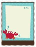 шаблон плаката рогульки 5x11 8 Стоковая Фотография RF