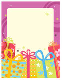 шаблон плаката рогульки 5x11 8 Стоковое Изображение