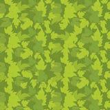 Шаблон предпосылки листьев зеленого цвета хмеля Заполнение завода твердое r Квадратное clipart запаса формата знамени Темное ое-з иллюстрация вектора