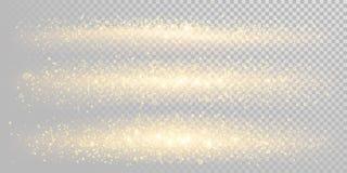 Шаблон предпосылки яркого блеска праздника рождества золотой сверкная частиц золота и светового эффекта сияющего confetti Glitter иллюстрация вектора